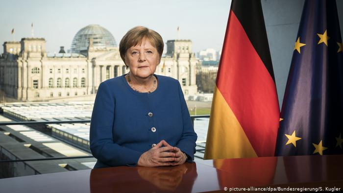 Deutschland, CDU und CSU legen mitten in der Corona-Krise in den Umfragen massiv zu