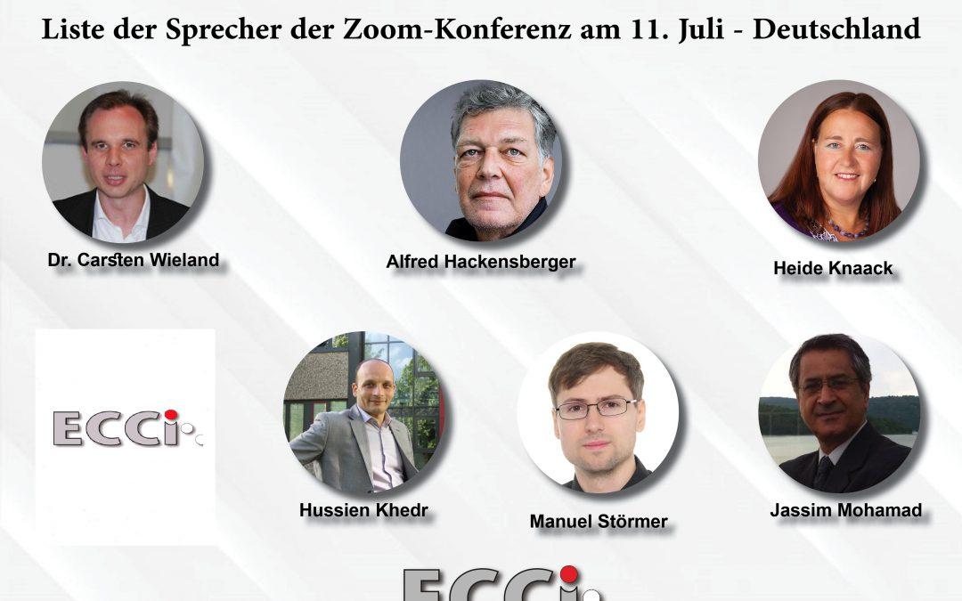 ECCI Konferenz  militärische Intervention der Türkei in Libyen  Konferenz