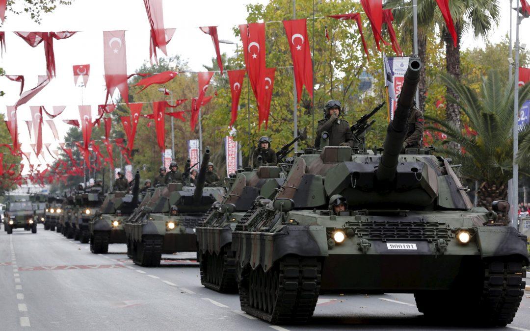 Hat Deutschland gegen die Regeln für den Waffenexport in die Türkei verstoßen?