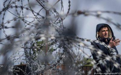 Einwanderung- Migration, nach Europa als politische Karte